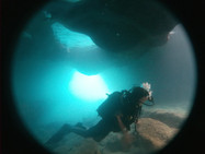 spilies cave, cave diving rethymno, rethymnon ecole de plongée