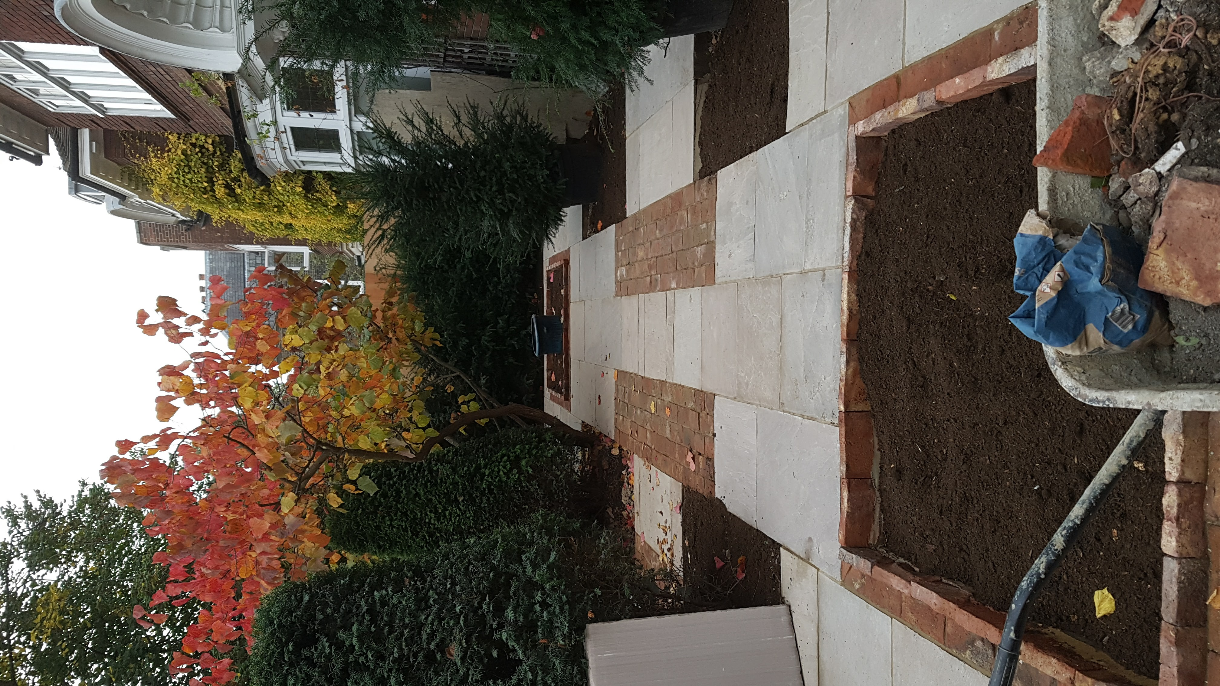 Paving - Front garden