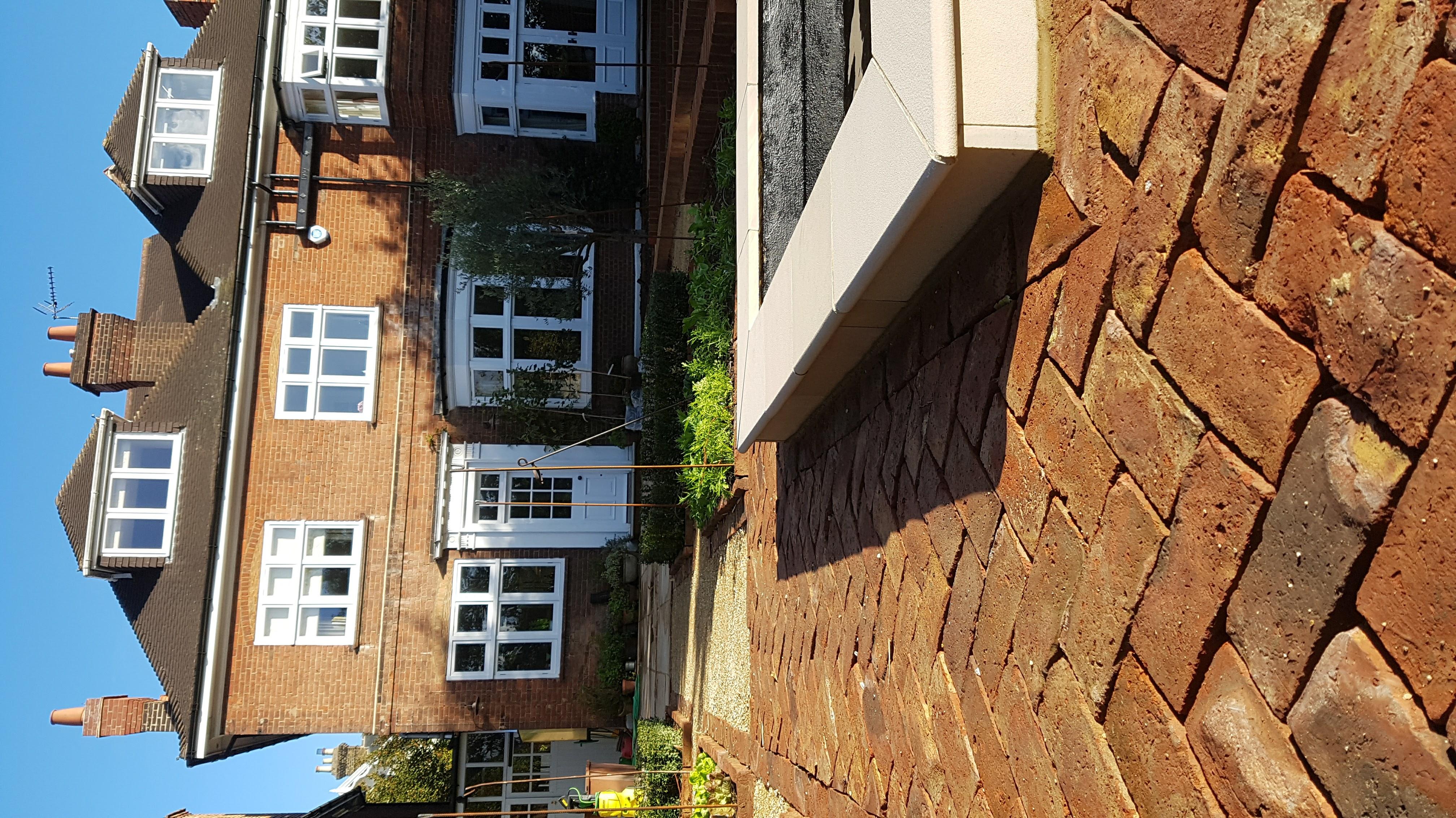 Pond, brick work - full works