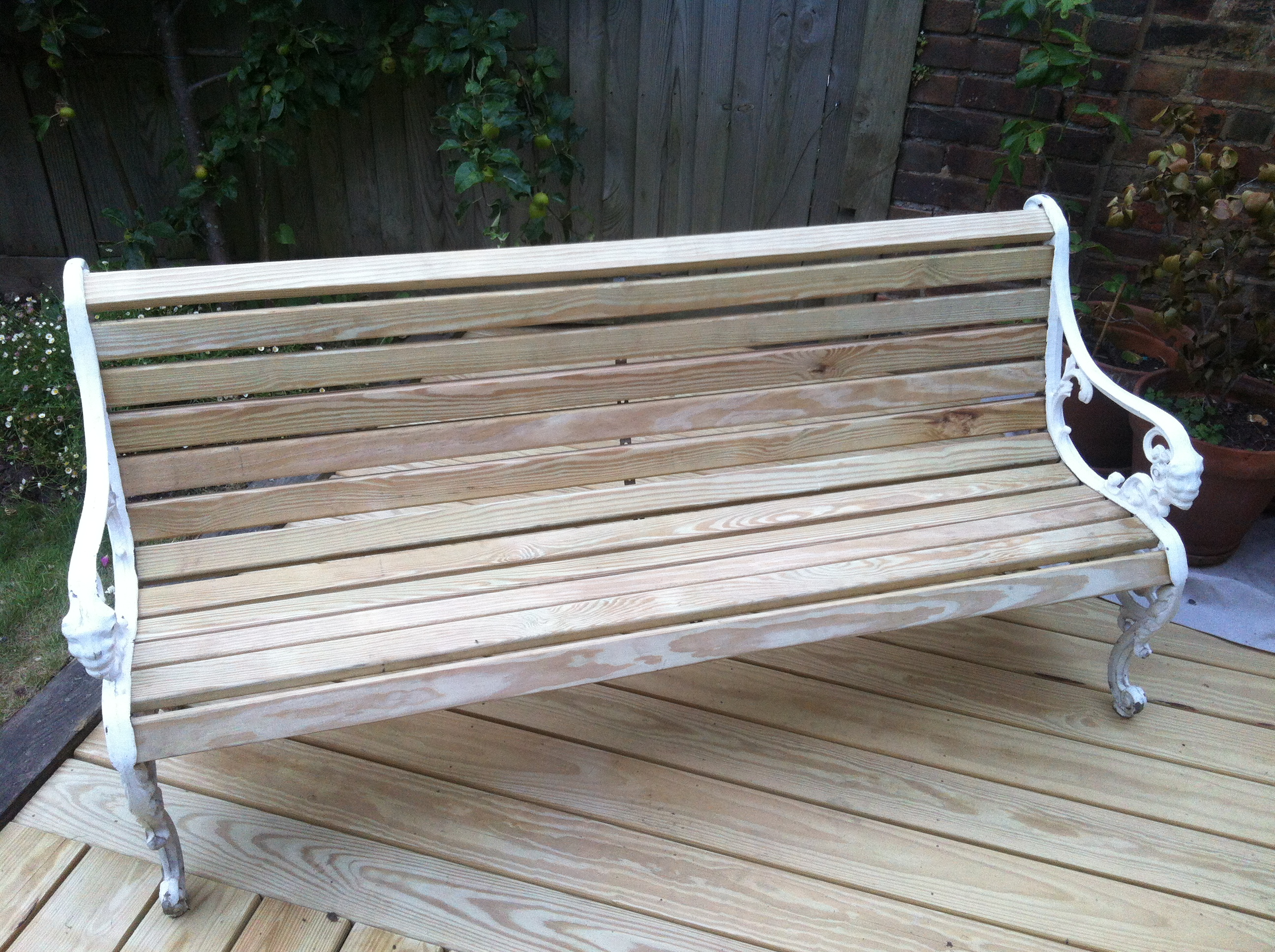 New Decking, Old Bench