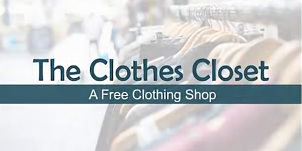 Free Clothing ! No Ticket Required