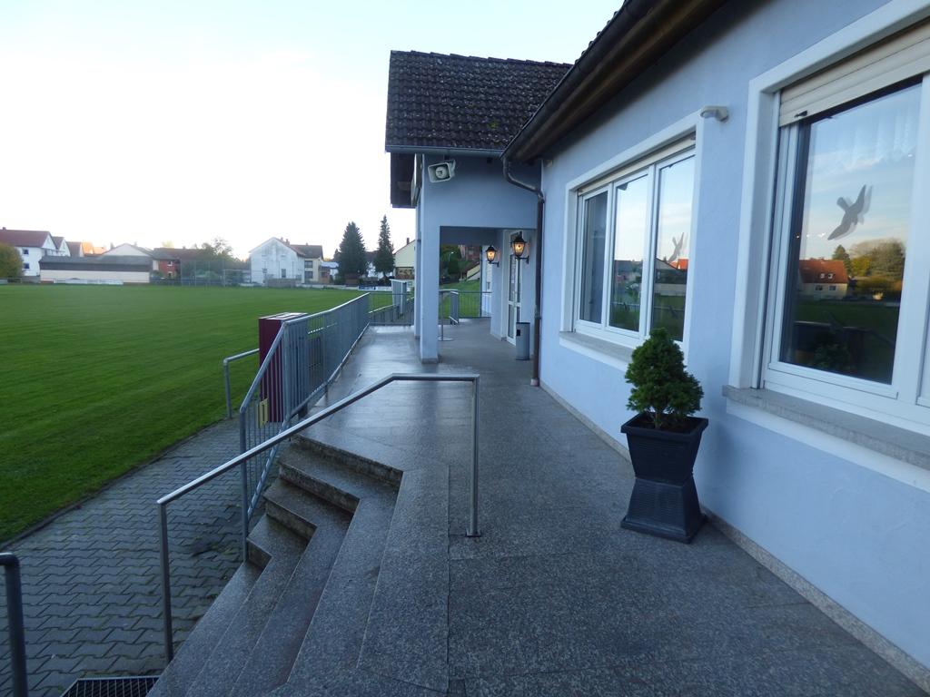 Terrasse und Zugang