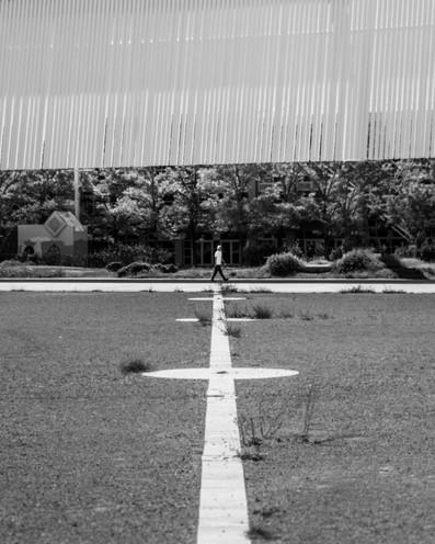 cross a line.