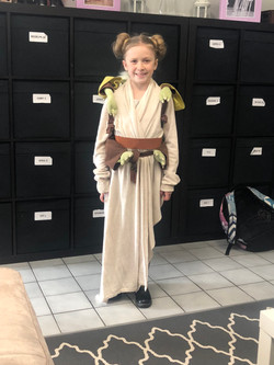 The Force Is With This Little One!