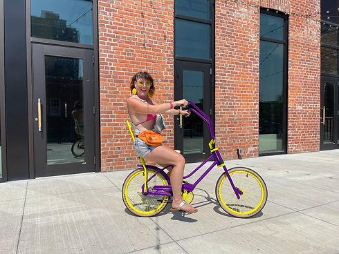 Zoii On Her Lo Rider