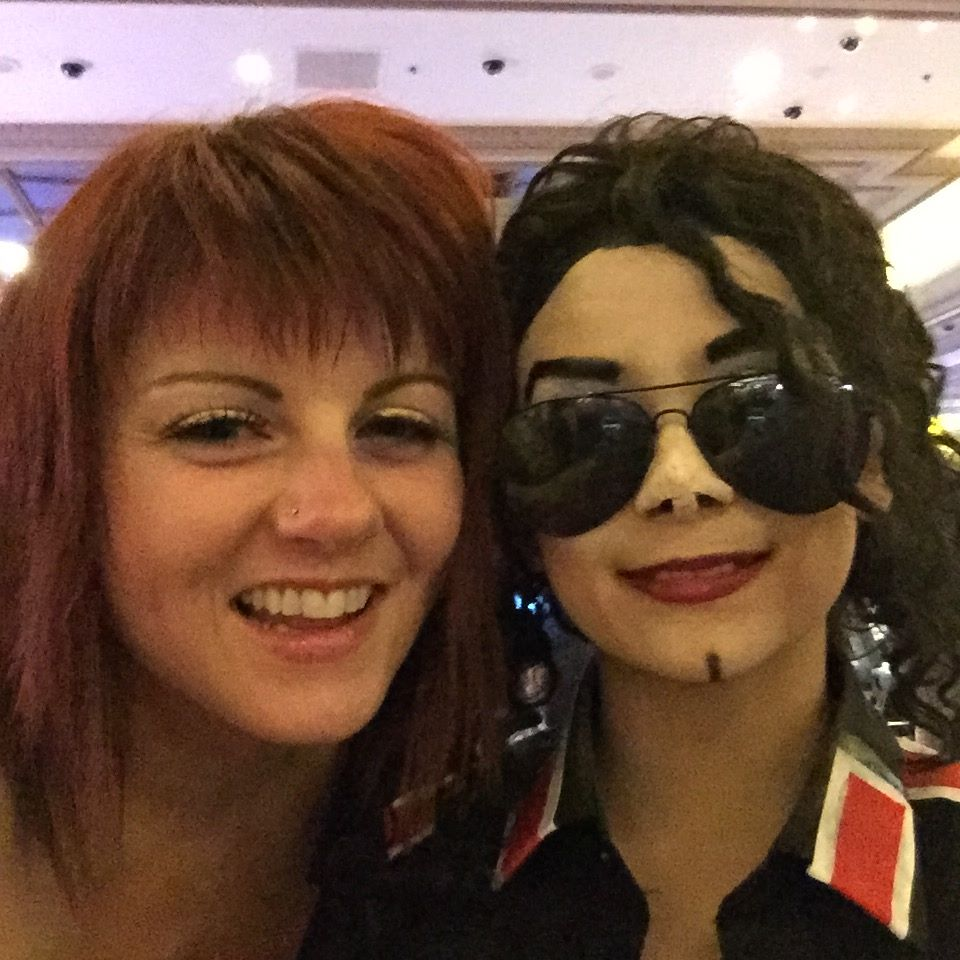 Michael & I in Vegas!
