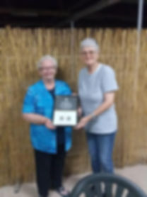 Ruth 20 years service premiers certifica
