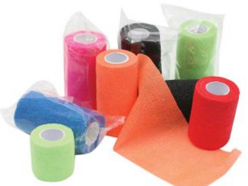 Bandage Cohesive 10cm (Vet Wrap)