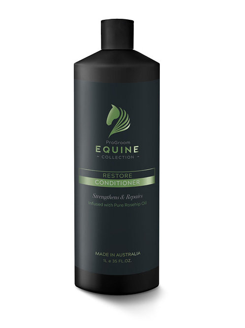 Progroom Equine Collection Restore Conditioner 1Ltr