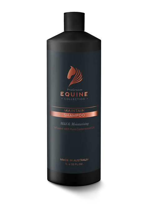 Progroom Equine Collection Maintain Shampoo 1ltr