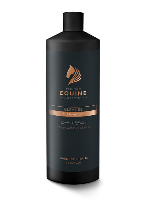 Progroom Equine Collection Cleanse Shampoo 1Ltr