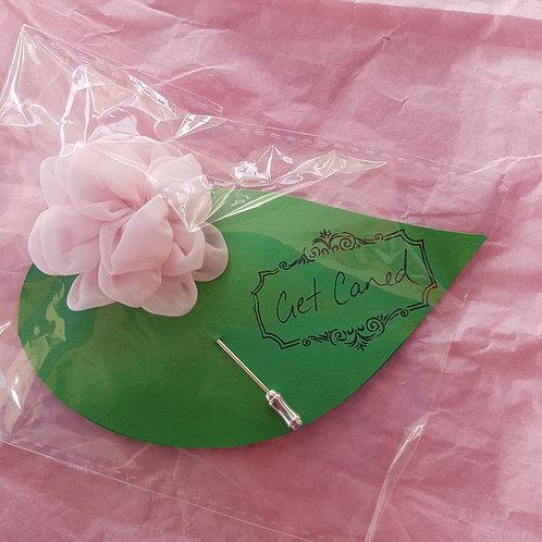 Lapel Flower - Soft Pink