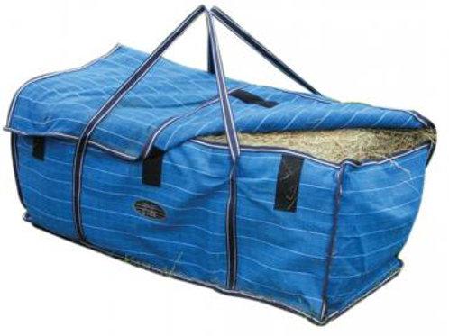 Canvas Hay Bale Bag -Blue