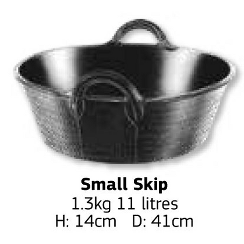 Tyre Rubber Small Skip