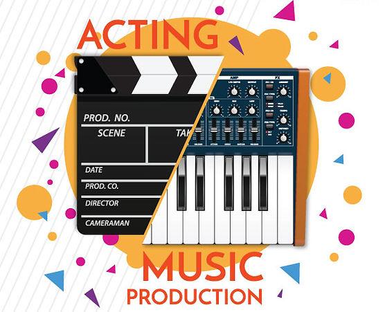 Study ACTING & MUSIC PRODUCTION KHÓA HỌC VỀ DIỄN XUẤT & SẢN XUẤT ÂM NHẠC