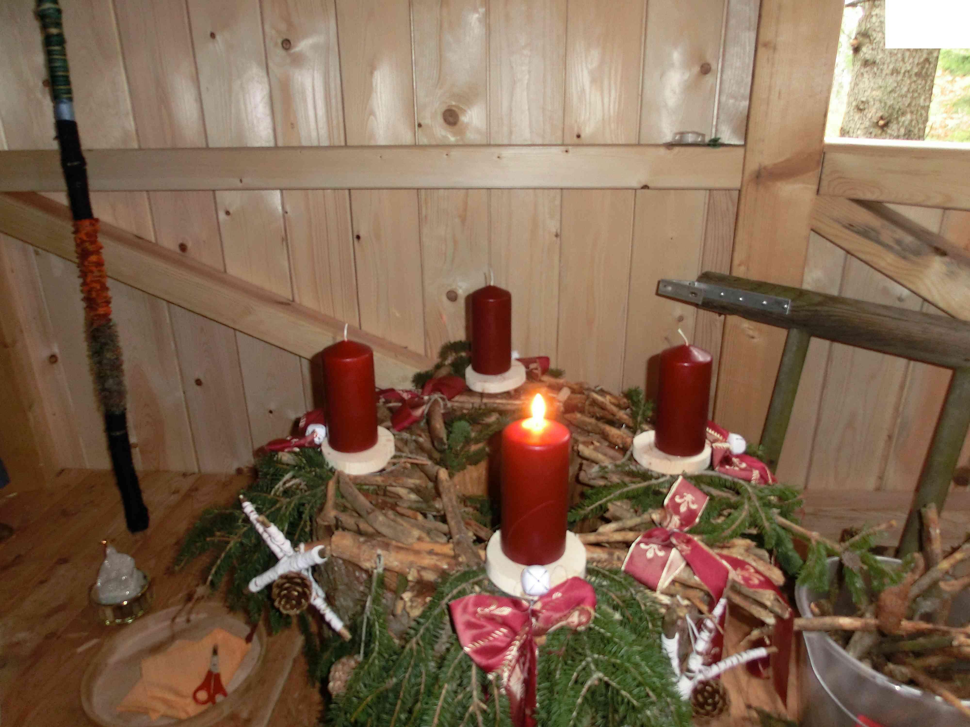 Unser Adventskranz