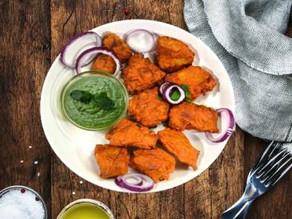 Crispy,spicy Amritsari fish fry.