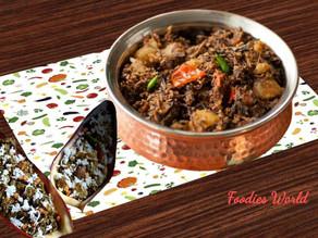 Mochar Ghonto - Banana blossom recipe from Bengali cuisine.