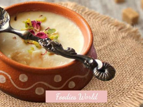 Mishti Doi- a creamy and delicious yogurt.