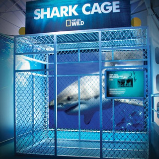 National Geographic Shark Cage