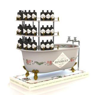 Hendricks Gin Bathtub