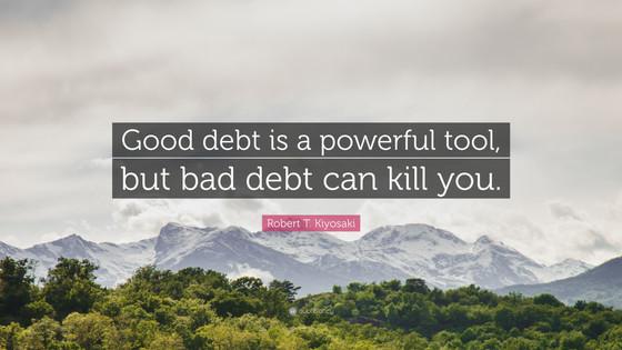 Debt....again!!