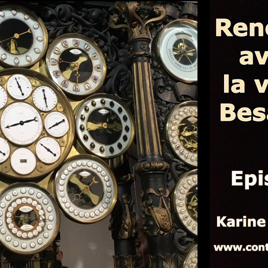 Podcast de marque touristique Besançon -