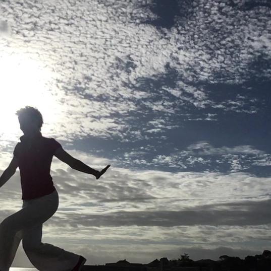 Un ciel inspirant... le coprs !;-)