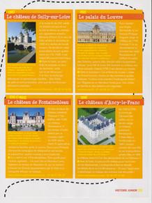 Histoire Junior - Dossier Châteaux