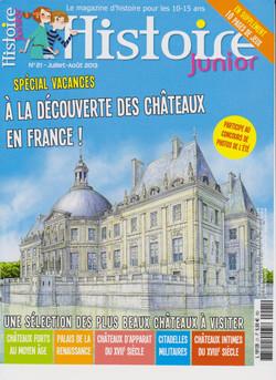 Histoire Junior - série châteaux