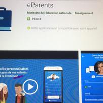 Textes pour l'appli E-parents - Education Nationale
