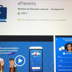 Textes pour l'appli E-parents - Education Nationale