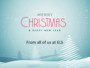 Merry Christmas and a Happy New Year from ELS