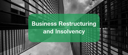 Business Restructuring and Insolvency