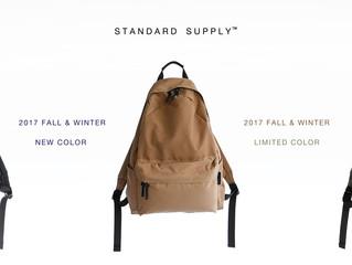 STANDARD SUPPLY / SIMPLICITY 新色・限定色 入荷