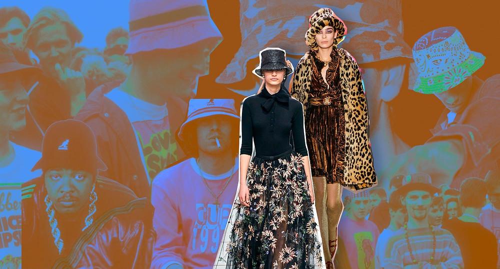 #buckethat #fashion #rave #madchester #annasui #dior
