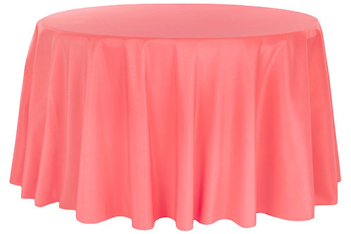"""132"""" Polyester Round Tablecloth"""