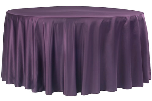 "132"" Lamour Satin Tablecloth"