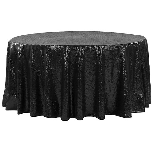"132"" Sequin Tablecloth"