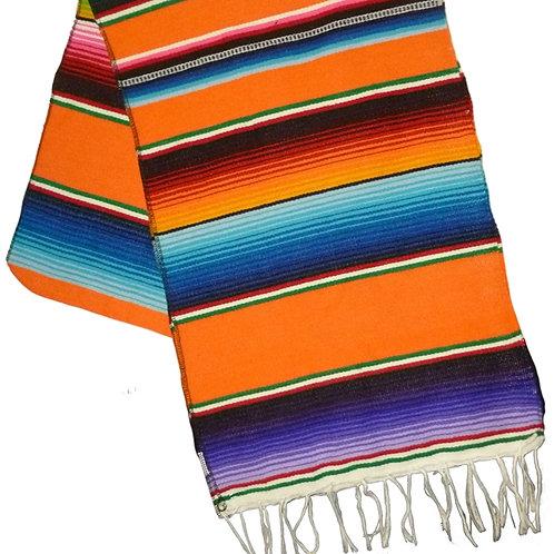 Mexican Serape Blanket Table Runner