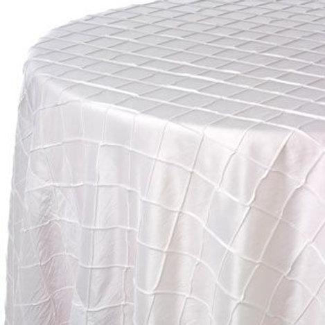 "132"" Pintuck Tablecloth"