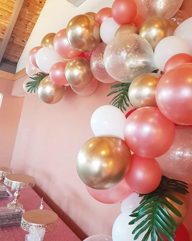Fifty shades of Rose gold 😍 #balloongar