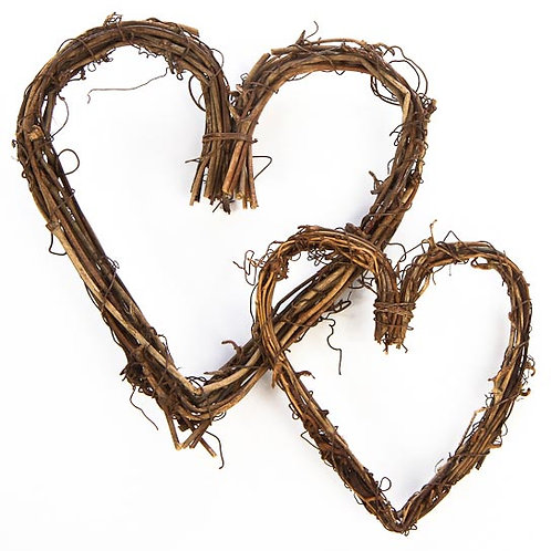 Twig Heart Wreath
