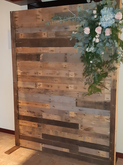 7' Pallet Wall