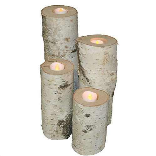 Woodland Tea Light Candles (Set of 4)