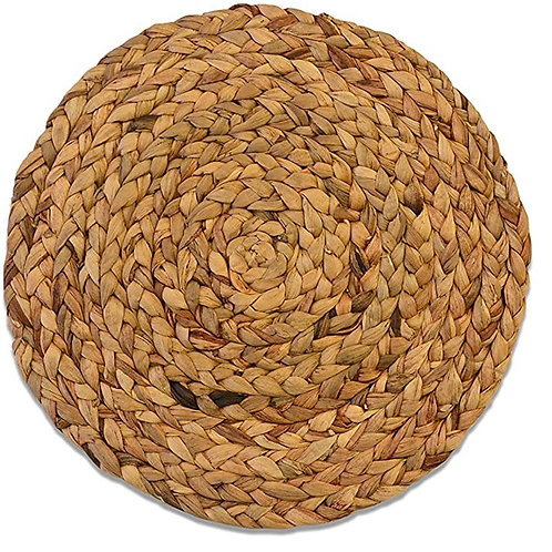 """15"""" Braided Natural Placemat"""