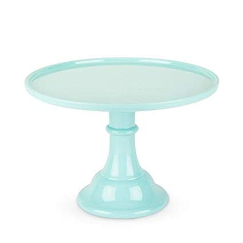 "11.5"" Mint Cake Stand"