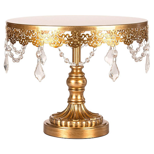 Gold & Crystal Cupcake Stand