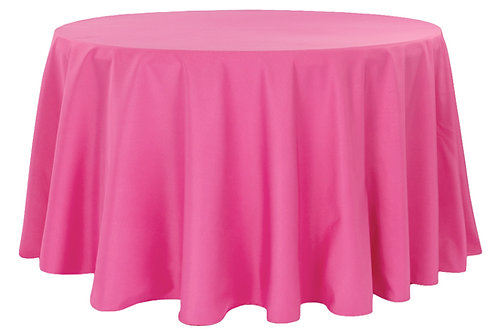 "108"" Polyester Tablecloth"