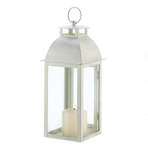Ivory Distressed Lantern